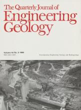 Quarterly Journal of Engineering Geology and Hydrogeology: 16 (3)
