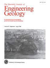 Quarterly Journal of Engineering Geology and Hydrogeology: 27 (Supplement)
