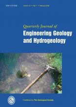 Quarterly Journal of Engineering Geology and Hydrogeology: 42 (1)