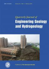 Quarterly Journal of Engineering Geology and Hydrogeology: 43 (1)