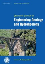 Quarterly Journal of Engineering Geology and Hydrogeology: 48 (1)