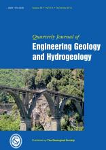 Quarterly Journal of Engineering Geology and Hydrogeology: 48 (3-4)