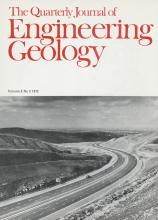 Quarterly Journal of Engineering Geology and Hydrogeology: 5 (3)