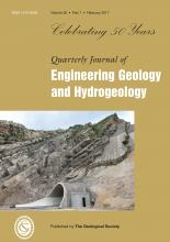 Quarterly Journal of Engineering Geology and Hydrogeology: 50 (1)